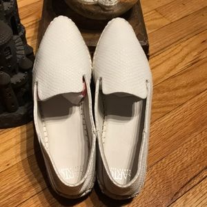 Leather Flats Point Toe Oxfords Tomboy Chunky 7